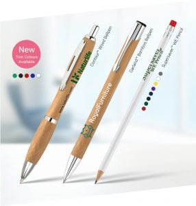Eco Friendly promotional Pens and pencils